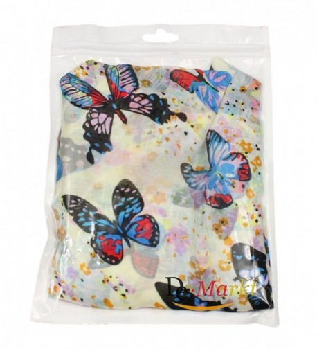 Demarkt Butterflies Print Elegant Scarf in Fashion Scarves