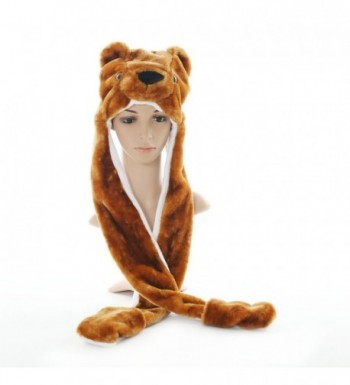 FakeFace Autumn Cartoon Earflap Costume