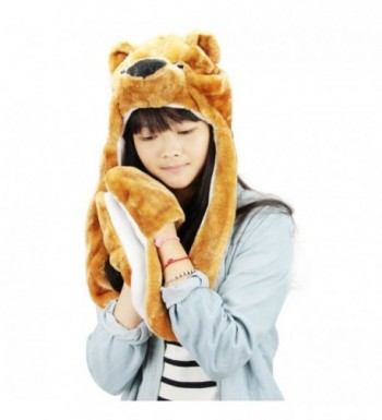 FakeFace Autumn Cartoon Earflap Costume in Cold Weather Scarves & Wraps