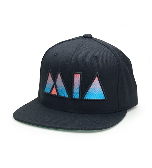 Miami Snapback Mia Vibes Hat (more colors) - Black - CZ186CRX5HK