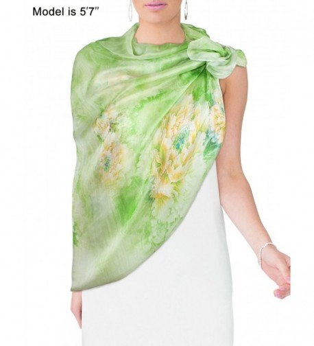 Dahlia Womens 100 Sheer Scarf in Fashion Scarves