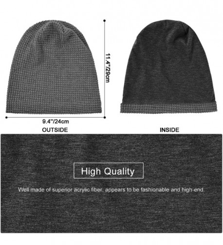 Flammi Women Winter Knit Hat with Visor Slouchy Fleece Lined Snow Ski Cap Warm Beret Cap