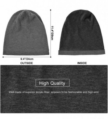 Vbiger Unisex Knitted Slouchy Suitable in Women's Skullies & Beanies