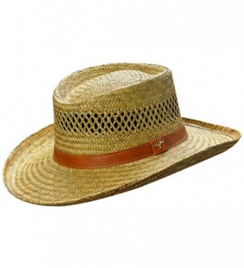 Dorfman Pacific Oak Grove - Straw Outdoorsman Hat - CS11MYHKSLP