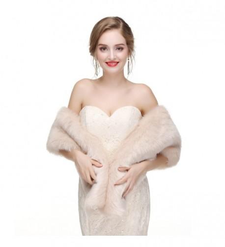 Ikerenwedding Womens Thicken Wedding Evening in Fashion Scarves