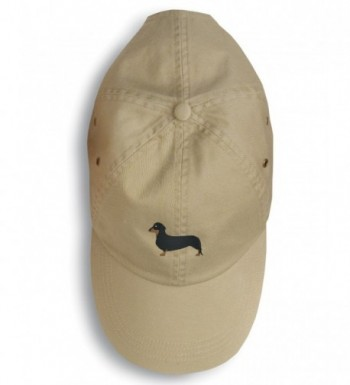 Caroline's Treasures BB3382BU-156 Dachshund Embroidered Baseball Cap - - multicolor - CQ12O40HWGR