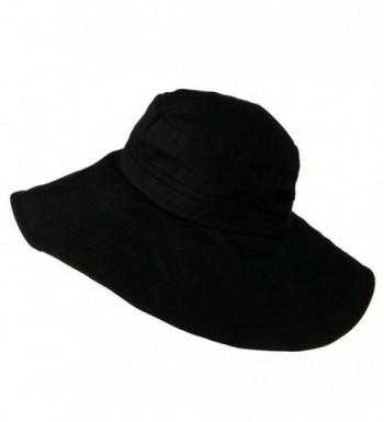 Size Ladies Linen Wide Brim in Women's Bucket Hats