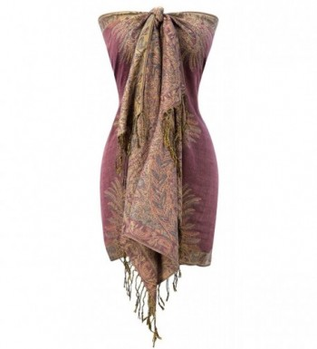 Peach Couture Vintage Persian Pashmina