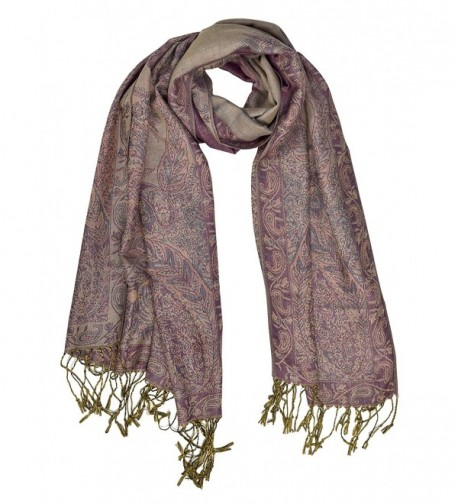 Peach Couture Vintage Persian Pashmina in Fashion Scarves