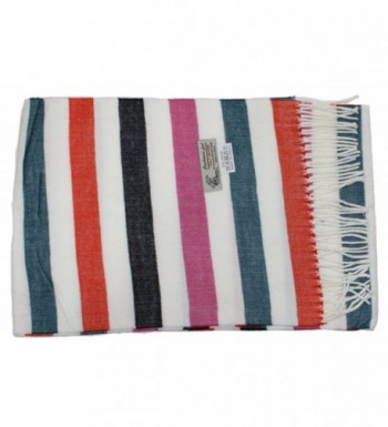 Ted Jack Cashmere Checkered Multicolor in Cold Weather Scarves & Wraps