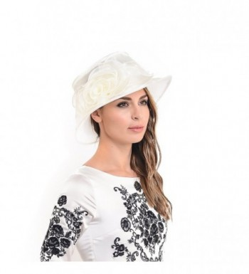 HISSHE Women Floral Wedding Racing in Women's Sun Hats