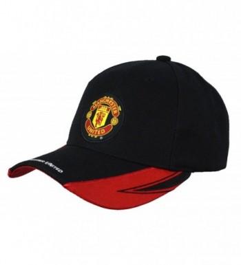 Manchester United Adjustable Cap Hat New Season Red Black - BACK 1900 - CS12M8AFENN