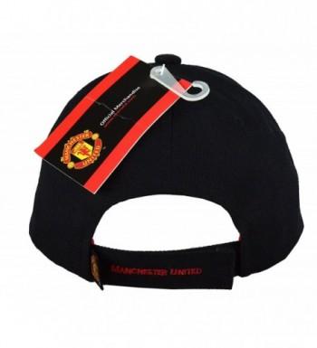 Manchester United Adjustable Season Black in Men's Baseball Caps