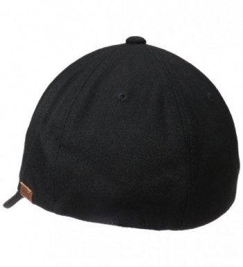 Kangol Textured Baseball Black X Large
