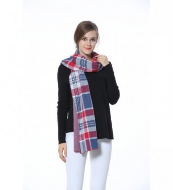 Knitbest Checked Fashion Blanket Scarves