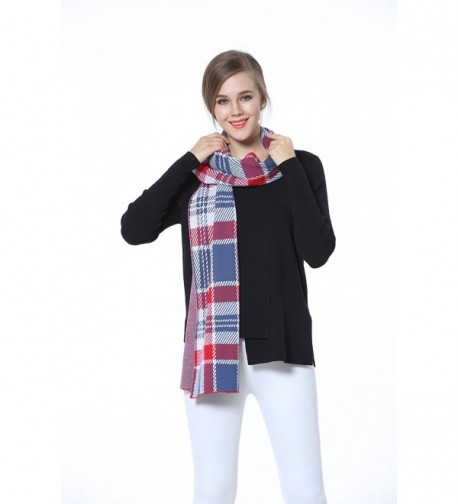 Knitbest Checked Fashion Blanket Scarves in Fashion Scarves