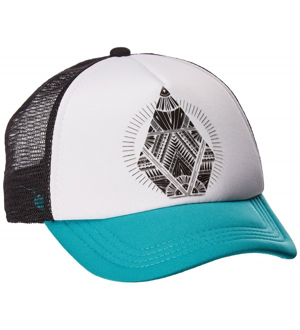 Volcom Women's Ocean Drift Hat - Teal Green - CG17Y2GDIQE