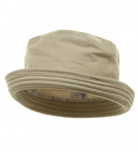 Washed Twill Fashion Hat-Khaki - CW111GHV061