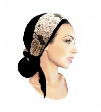ShariRose Pre Tied Bandana Tichel Vintage in Women's Headbands in Women's Hats & Caps