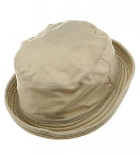 MG Washed Twill Fashion Hat Khaki in Men's Sun Hats