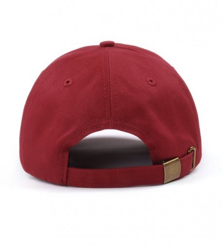 AUNG CROWN Cotton Baseball Unstructured