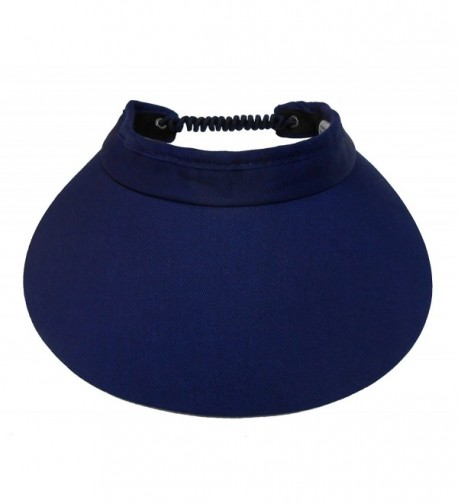 Cushees Coil Back Sun Visors [style 221] - Navy - CD11CXV8PFX