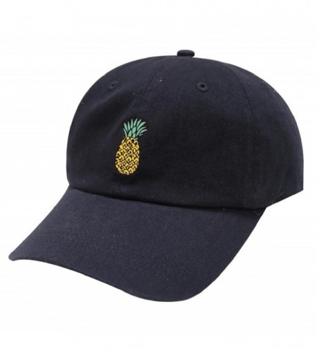 TOOPOOT Hip Hop Pineapple Baseball Adjustable in Women's Baseball Caps