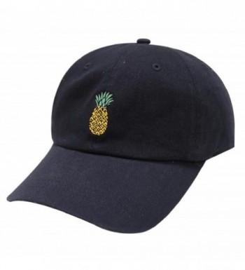 TOOPOOT Hip Hop Pineapple Baseball Adjustable in Women's Baseball Caps