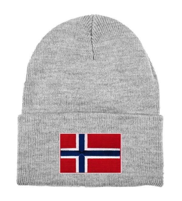 Norway MyCountry Solid Knit Hat (Sport Gray) - C911J9OWWVZ