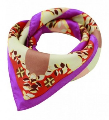Ayli Women's Mulberry Silk Scarf Various Style - Abstract Pattern 5 - CG1282KSP1H