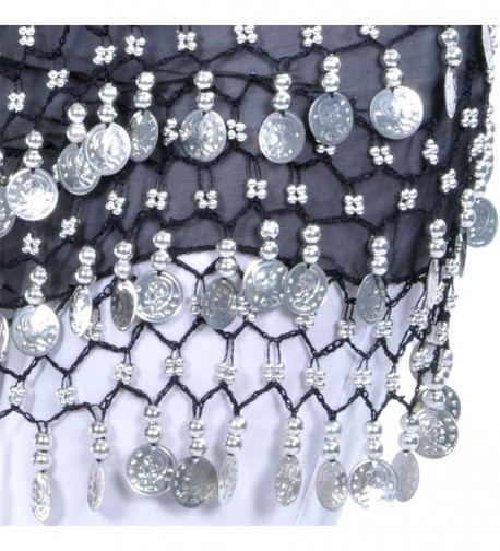 Dance Fairy Belly Scarf Silver in Fashion Scarves