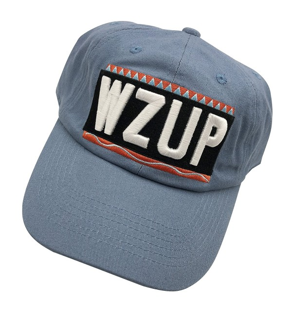 Xiezhongxing WZUP Dad hats Baseball Cap Embroidered Adjustable Snapback Cotton Unisex - Denim - CP187K4IING