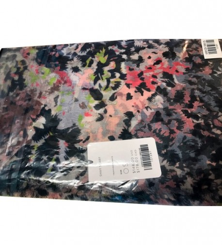 Super Soft 100% Cashmere Shay Scarf by Kit and Ace - Tropic/Bone White - CJ18990QAZC