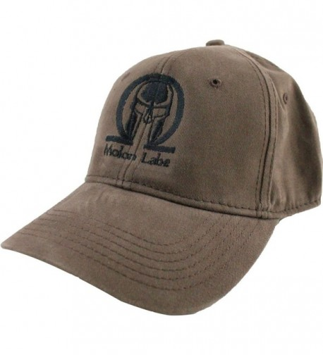 Molon Labe Baseball Cap - Brown - C2128BGR07R