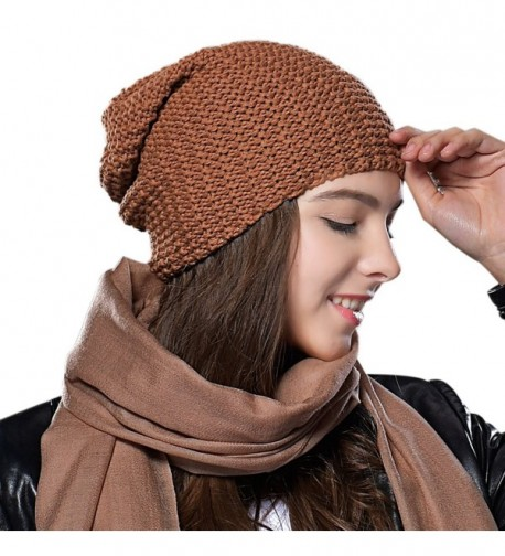 3d232fbafec ... Merino Wool Knitted Hats Caps For Women Girls. FURTALK Womens Winter  Slouchy Beanie. FURTALK Womens Winter Slouchy Beanie in Women s Skullies    Beanies