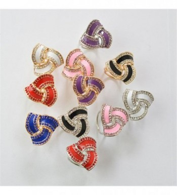 Fashion Buckle Triple Jewelry Clothing in Fashion Scarves
