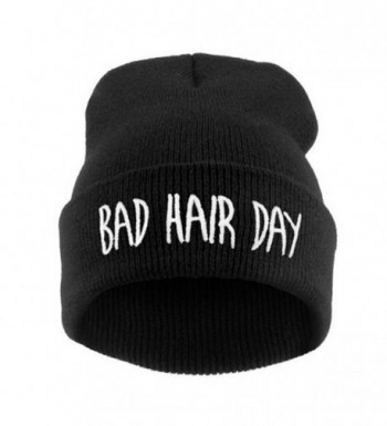 Azude Winter Beanie Knit Hats For Unisex - Bad Hair Day - CE12N763PXF