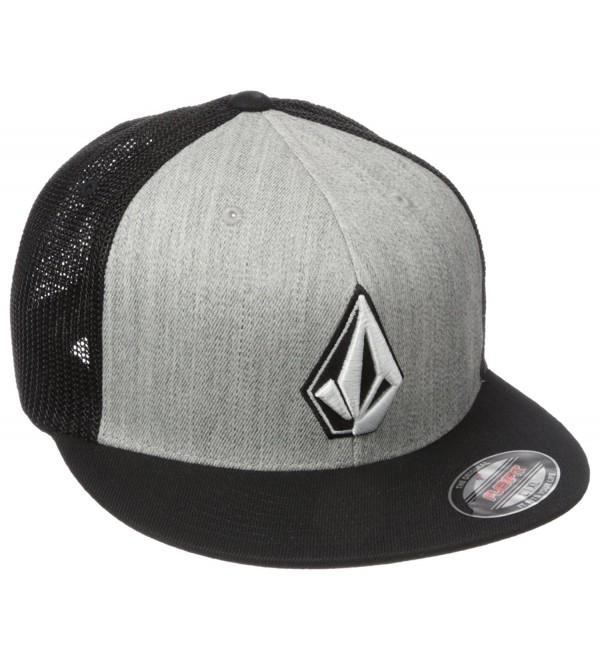 Volcom Men's Stone Pro Jfit Hat - Hgr - CA12O2A5TLY