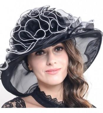 Kentucky Church Organza Colours SM019 Black