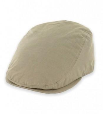 Belfry Street Tonic Lightweight Cotton Ripstop Ivy Cap in 4 Colors - Tan - C112G8TK9PT