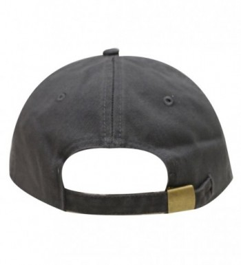 City Hunter Cotton Baseball Charcoal in Women's Baseball Caps