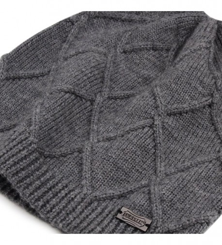 Winter Cashmere Slouchy FURTALK Designed in Women's Skullies & Beanies