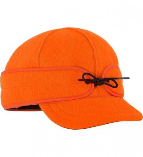 Stormy Kromer Mercantile Ida Kromer Cap - Women's - Blaze Orange - CW12KKCI22H