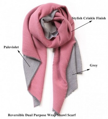 EUPHIE YING Womens Solid Winter in Fashion Scarves