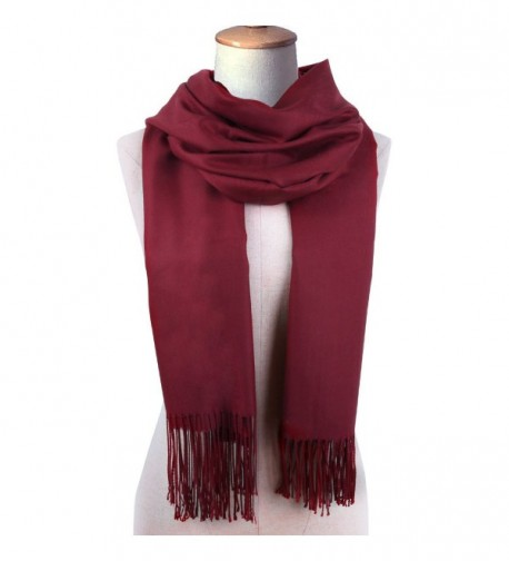 Cashmere Winter Solid Luxurious Shawls in Fashion Scarves