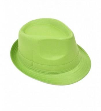 Playful & Colorful Fedora Hat - Green - CT11803OAKV