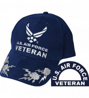 United States Air Force Veteran II Blue Hat Cap USAF - CJ11COQ0VOP