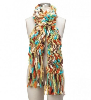 Womens Colorful Open Weave Scarf in Fashion Scarves