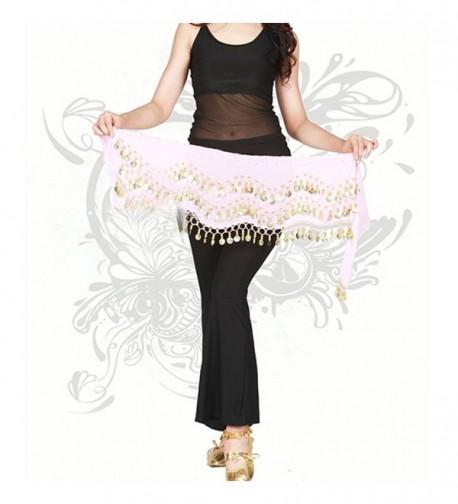 Womens Belly Dance Chiffon Dangling