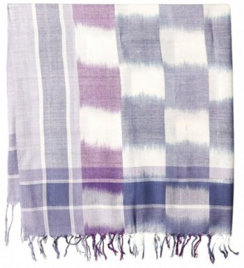 Fiorentina Womens Plaid Checkered Fringe